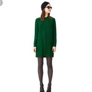 Kate Spade Saturday Green Silk Tunic Dress